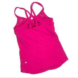 lululemon Pink Tank Top Size 4